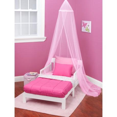 Velos Para camas y cunas color rosado