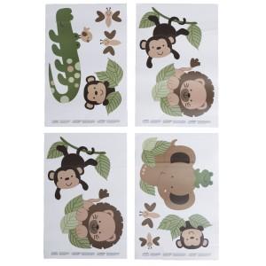 Autoadhesivos Baby Safari para decoracion de Muro Nojo, Baby Safary