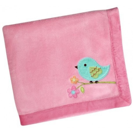 Mantita Coral Fleece Love Birds de Nojo