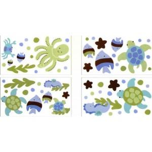 Autoadhesivos para decoracion de Muro Nojo, Sea Babies
