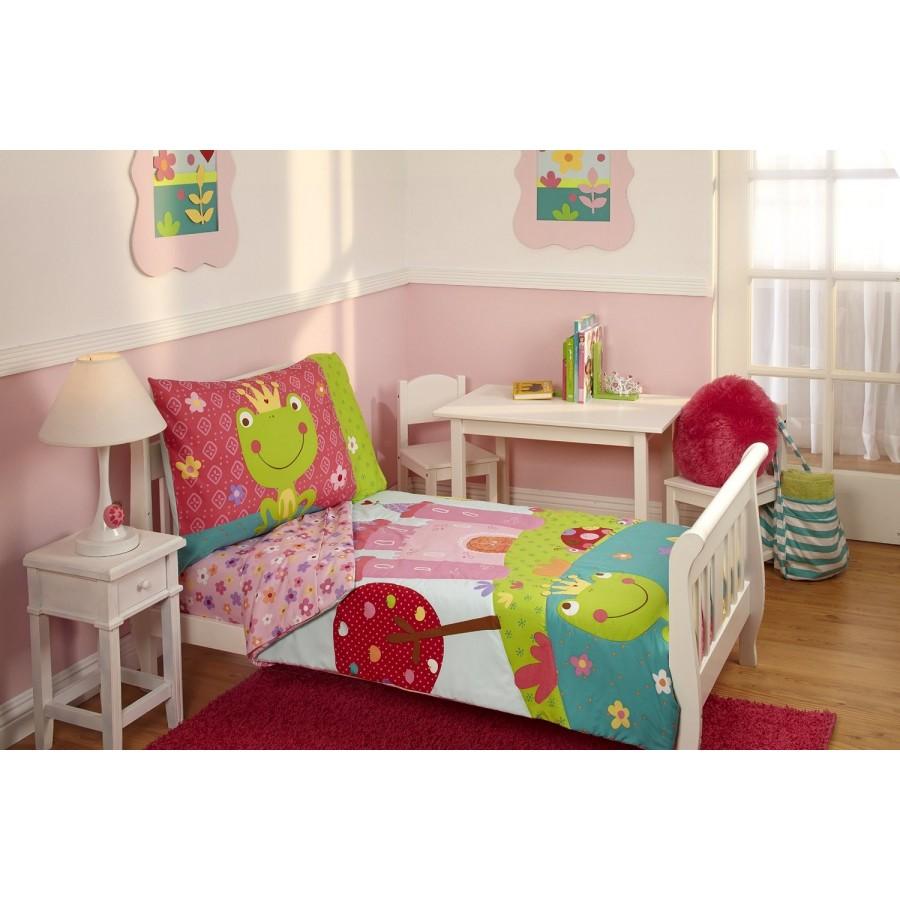 set de cama transici n 4 piezas hadas