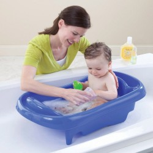 Bañera Azul The First Years para recién nacido con hamaca
