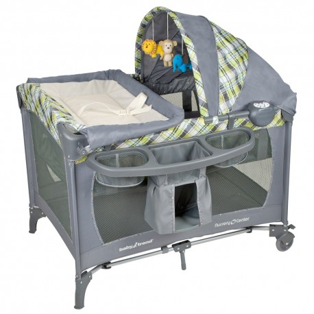 Cuna Corral Pack & play paper zoo Baby Trend