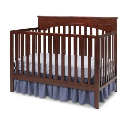 Cuna de madera Layla Cherry 4 en 1 Delta Children`s Products