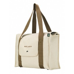Bolso Maternal Maclaren Natural Canvas.