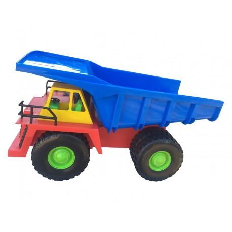 Camión Minero Chuquicamata rojo