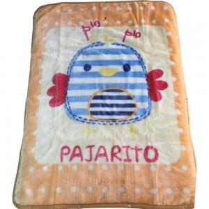 Mantita Pajarito convertible en saquito bebe