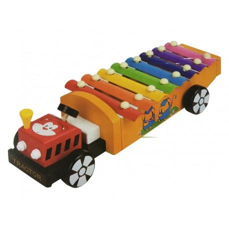 Xilofono para niños modelo bombero