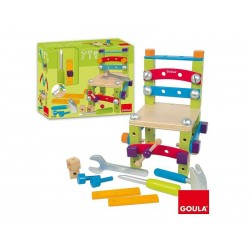 Set Silla Super Construccion Goula