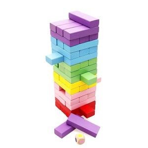 Jenga Clasico 48 piezas de colores