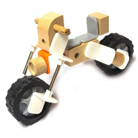 Motocicleta Armable de madera