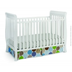 Cuna de madera 3 en 1 Glenwood Blanca de Delta Children's Products