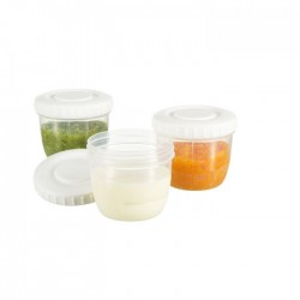 Pack 6 contenedores de alimentos