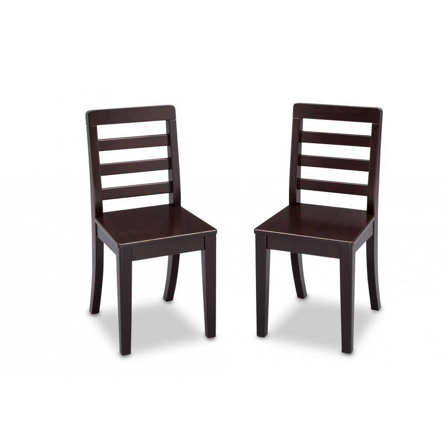 Mesa con 2 sillas para ni os madera solida for Silla comedor para ninos