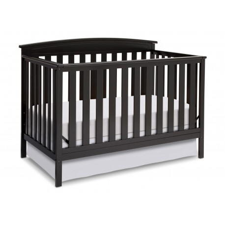 Cuna de madera cherry oscuro Emery 4 en 1 Delta Children`s Products