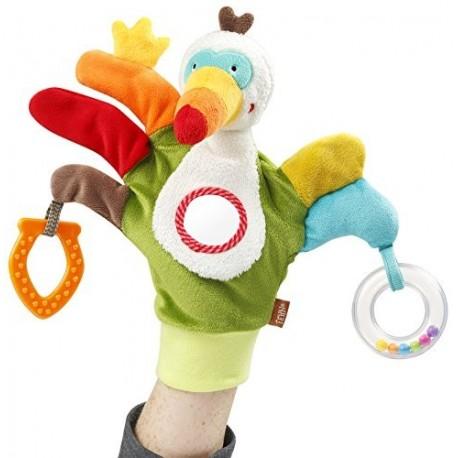Guante Marioneta y actividades tucan Baby Fehn
