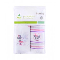 Pack Tutitos Minnie Bambino de muselina