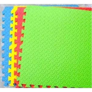 Pack 4 gomas eva 63x63x2.5 cm Amarillo