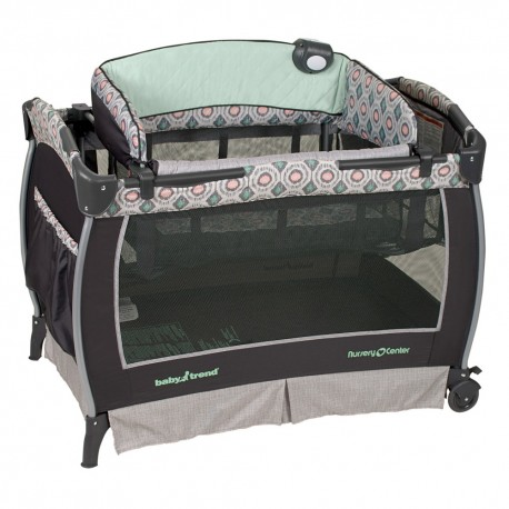 Cuna Corral Pack & play Artisan con moises colecho baby trend