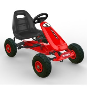 Gokart Auto pedales Bebesit Rojo BK1520R
