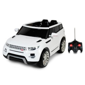 Camioneta a bateria Land Rover 903 Blanco