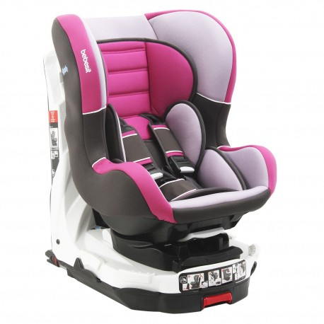 Silla de auto revo 360 rosada Bebesit