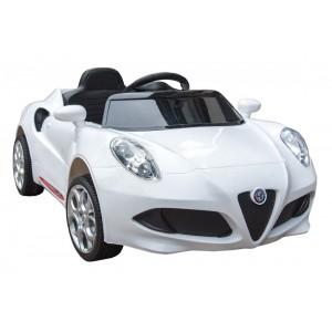 Auto a bateria Alfa Romeo 1588 Blanco