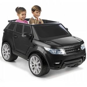 Camioneta a bateria Land Rover 903 Negra