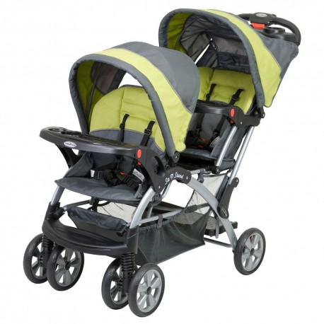 Coche Doble Sit N' Stand Carbon Baby Trend