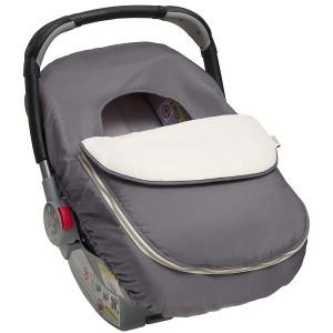 Cobertor silla de auto gris The first years