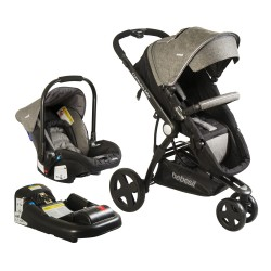 coche Travel System Compass Elite 5150 Gris