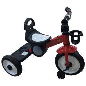 Triciclo Metalico Rojo Pellitos