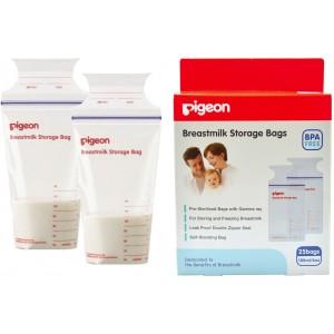 Bolsas almacenaje de leche materna 180 ml Pigeon