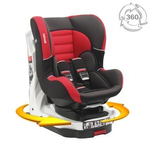 Silla de auto revo 360 roja Bebesit