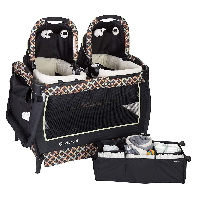 Accesorios Para Bebes Gemelos.Cuna Para Gemelos O Mellizos Baby Trend Circle Tech