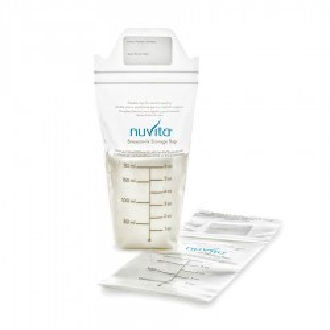 Bolsa Nuvita 180 ml para almacenar leche Materna