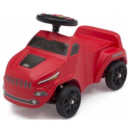 Correpasillos Jeep Cherokee Ride-on Rojo