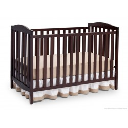 Cuna de madera 3 en 1 Capri Chocolate Delta Childrens Products