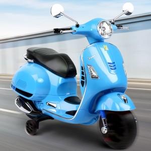 Moto Bateria Vespa celeste Bebesit