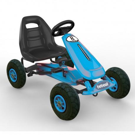 Gokart Auto pedales Bebesit azul BK1520AZ
