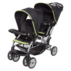 Coche Doble Sit N' Stand Optic Green Baby Trend