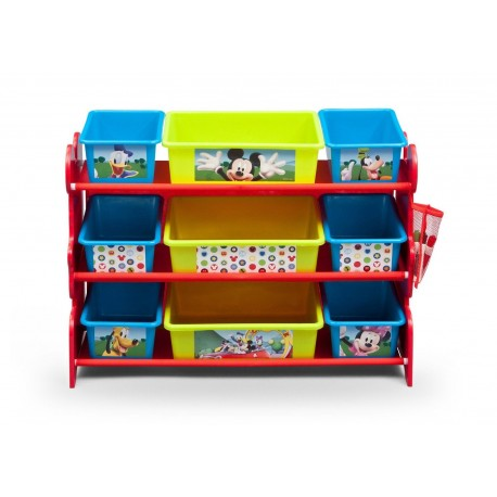 Multi Organizador Mickey Mouse 9 cajas