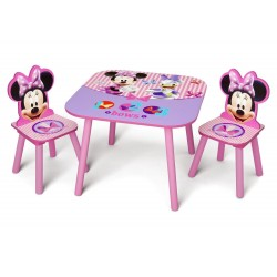 Mesa con 2 sillas Minnie