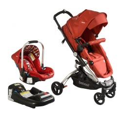 Travel System Bebesit Eclipse Rojo