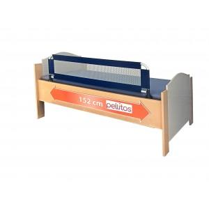 Baranda abatible para cama azul XL 152cm