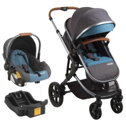 Coche Travel System Aspen Air verde Bebesit