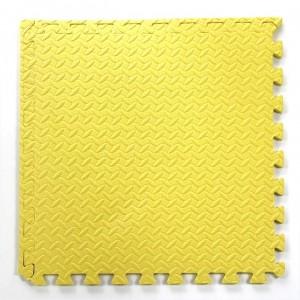 Pack 2 gomas eva amarilla 62x62x2.5 cm