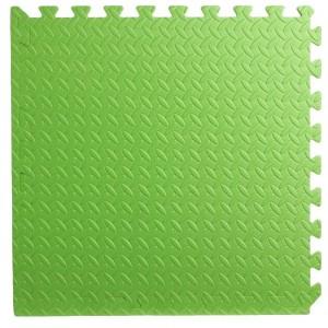 Pack 2 gomas eva 62x62x2.5 cm verde