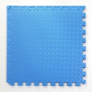 Pack 2 gomas eva 62x62x2.5 cm Azul.