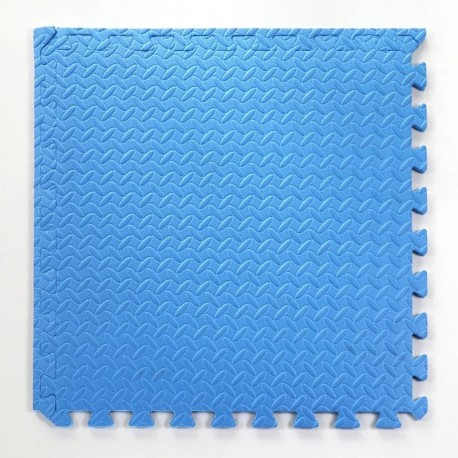 Pack 2 gomas eva 62x62x2.5 cm Azul